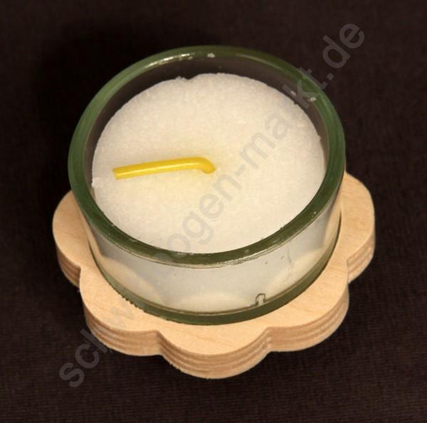 Holzaufsatz für 1 Teelicht 5 x 5 cm