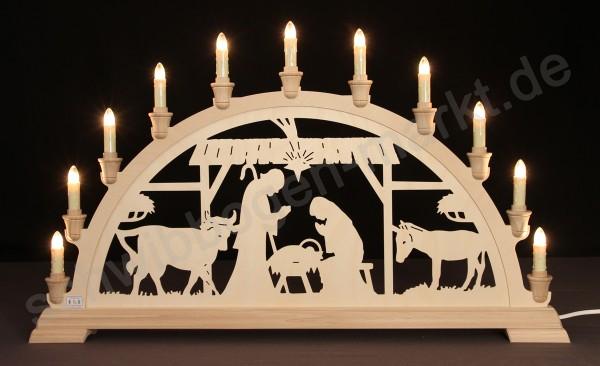 Christi Geburt im Stall 67 x 40 cm