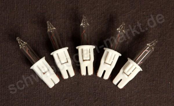 Ersatzlampe für Lichterbäume 5 Stück 12 V / 1.2 W