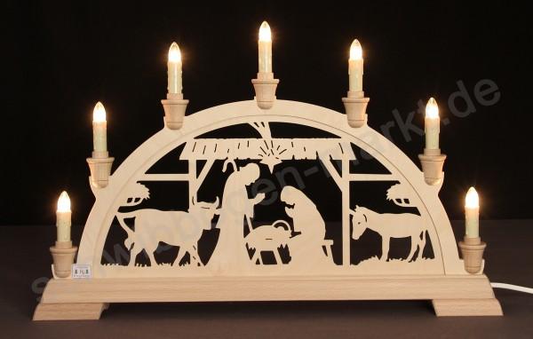 Christi Geburt im Stall 51 x 32 cm