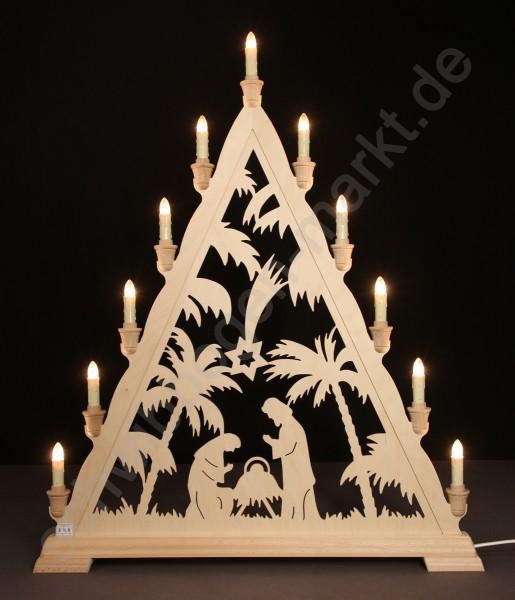 Christi Geburt mit Palmen 56 x 68 cm