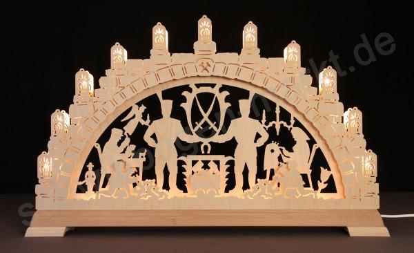 Erzgebirge 3D mit indirekter Beleuchtung 67 x 40 cm